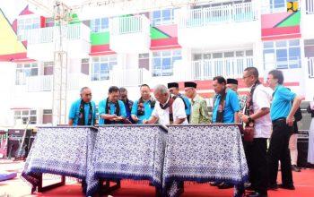 Menteri PUPR Resmikan Tiga Rusun Santri/Mahasiswa di Pekalongan
