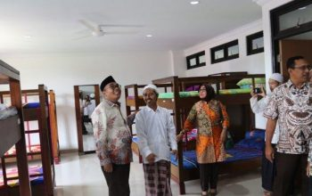 Dibangun dengan Dana APBN, Asrama Pondok Pesantren Modern Gondang Diresmikan