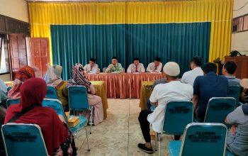 Wawancara Calon Wali Siswa MTs Gondang oleh Pengurus Yayasan