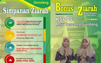 Menabung dengan Bonus Ziarah, di Koperasi Gondang