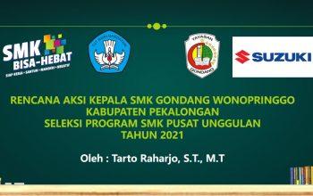 Rencana Aksi Kepala Sekolah SMK Gondang menuju SMK Center of Excellence