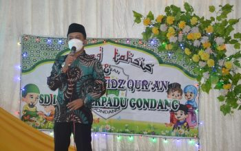 Gelar Sidang Tahsis TPQ, Kepala SDIT Gondang: Mari Menjadi Generasi Cinta Al Qur'an