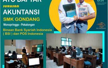 SMK Gondang Menjadi Binaan Bank Syari'ah Terbesar di Indonesia